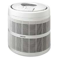 KAZ HOME ENVIRONMENT Air Purifier,3-Speeds,475 Sq Ft. Cap.,18x18x19-9/16,White