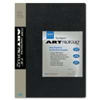 Art Portfolio, Top Load, 24 Sleeves, 4x6, Black