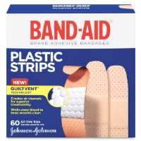 Adhesive Bandages, Plastic, 3/4, All One Size, 60/BX