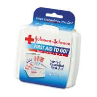 Mini First Aid Kit, 12 Pieces, 4-1/4x4x1