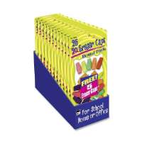 Eraser Pencil Caps, 25/PK, Assorted