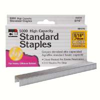 Standard Chisel Staples, 5/16, Stainless Steel