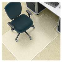 Antistatic Chairmat, Wide Lip, 25x12 Lip, 45x53, CL