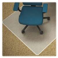 Chair Mat, Low Pile, 45x53, Clear