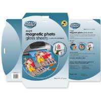 Magnetic Photo Sheets, 8-1/2x11, 5 Sheets/PK