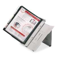 MASTER PRODUCTS Desktop Reference System,24 Tabs,48 Sheet Cap,21x8x14