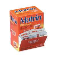 MCNEIL INDUSTRIES IB Motrin, Pain Reliever, 2/PK, 50 PK/BX