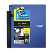 MEAD Notebook, 5-Subject, College Ruled, 200 Sh, 8-1/2x11, Ast