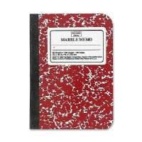 Memo Book, Narrow Ruled, 80 Sheets, 5-1/2x4, Assorted