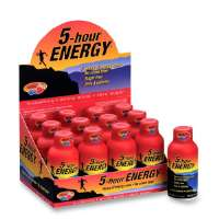 MARJACK Five Hour Energy Drink, 2 oz., 12/PK, Berry Flavored