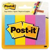 Post-it Page Markers, 1x3, 200/PK, Assorted Ultra Colors
