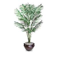 GLOLITE NUDELL LLC Lifelike Tree, 6' Palm, Green-T7786