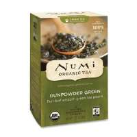 Green Tea, Organic, 18 Bags/BX, Gunpowder Green