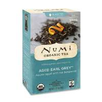 Black Tea, Organic, 18 Bags/BX, Aged Early Gray