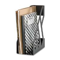 Magazine File, 4-3/4x9-1/8x11-1/4, Black