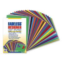 PACON CORPORATION Fadeless Designer Sheets, 100 Sheets, 12x18, Assorted