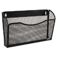 ROLODEX Wall File, Mesh, Holds 13-1/2 W, Black