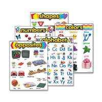 Learning Chart Combo Pack, Kindergarten, Multi