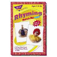 Rhyming Match Me Flash Cards, 3x3-7/8, 6 And Up