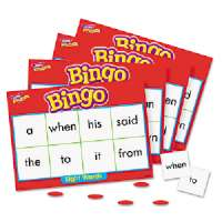 Sight Words Bingo Games,46 Practice Words,36 Cards,200 Chips