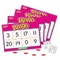 Addition Bingo Game,Includes 36 Playing Cards/over 200 Chips