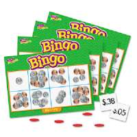 Money Bingo Games,36 Playing Cards,200 Chips,English