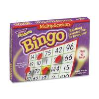 Multiplication Bingo, 5x5, 36 Cards, 700 Chips