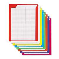 Incentive Chart,Vertical,22x28,50 Rows/30 Columns,8/PK,Ast