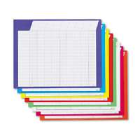 Incentive Chart,Horizontal,22x28,36 Rows/45 Col.,8/PK,Ast
