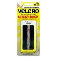 Sticky Back Tape, 18x3/4, Black