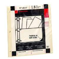 Pocket Pages, For Binders, 8-1/2x11, Manila