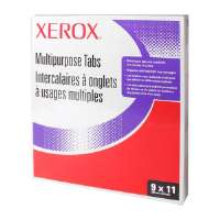 XEROX Copier Tabs,90lb,Straight Collated,Unpunched,50 ST/PK,WE