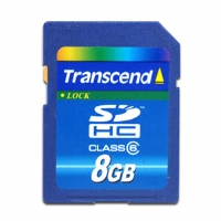 Transcend TS8GSDHC6 SDHC Card