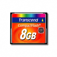 Transend 8GB 133X High Speed Compact Flash Card