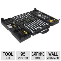 Ultra Precision X 95-Piece All-Purpose Tool Kit - 95x Pieces, Wall-Mountable, Carrying Case