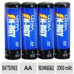 Ultra N-RGY AA Rechargeable Batteries