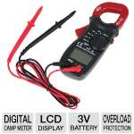 Ultra Precision X Digital Camp Meter - Digital LCD Display, 3V Battery, Overload Protection, Data Hold