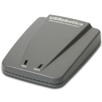 USRobotics USR5635 56k USB Mini Faxmodem - USB, RJ-11 