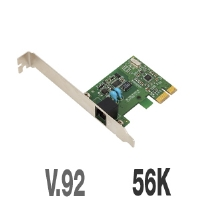 USRobotics USR5638 56K V.92 PCI Express Faxmodem - 56K, PCIe, V.92
