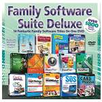 Family Software Suite Deluxe On DVD - Corel� Office, Corel VideoStudio� X6, DrawPlus� X6, PagePlus� X7, PhotoPlus� X6, WebPlus� X6, SOS Online Backup And Many More  - 50871