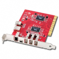 Ultra ULT40027 FireWire/USB 2.0 Combo PCI Card - 7-Port