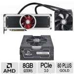XFX Radeon R9 295X2 8GB and XFX 1250 WATT PSU Bundle