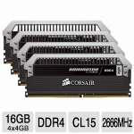 If speed is what you're looking for then this Corsair DDR4 RAM is what you need.