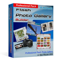 A4DESK FLASH GALLERY BUILDER - PROFESSIONAL PACK (
