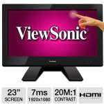 "VIEWSONIC TD2340 23"" 10-POINT TOUCH IPS MONITOR"
