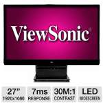 "ViewSonic 27"" 1080p IPS Widescreen LED Monitor"