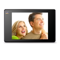 "Viewsonic 3DPF8 Digital 8"" 3D Photo Frame - High Resolution,  128MB Memory, calendar, Clock, Alarm, Remote, Black"