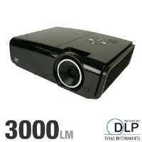Vivitek D935VX DLP Projector - 3000 ANSI Lumens, XGA 1024x768, 4:3 Native, 2400:1, VGA, HDMI; Free Mount & Screen w/ Rebate