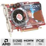 Visiontek Radeon HD 2600 XT Video Card - 512MB GDDR3, PCI Express, CrossFire Ready, (Dual Link) Dual DVI, HDTV, HDMI Support, Video Card