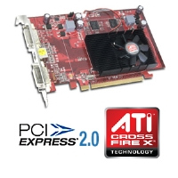 Visiontek 900232 Radeon HD 3650 Video Card - 512MB GDDR2, PCI Express 2.0, CrossFireX Ready, (Dual Link) Dual DVI, HDTV, HDMI Support